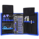 repair tool kit screwdrivers - 80 in 1 Precision Screwdriver Set with Magnetic Driver Kit, Professional Electronics Repair Tool Kit with Portable Oxford Bag for Repair Cell Phone, iPhone, iPad, Watch, Tablet, PC, MacBook and More