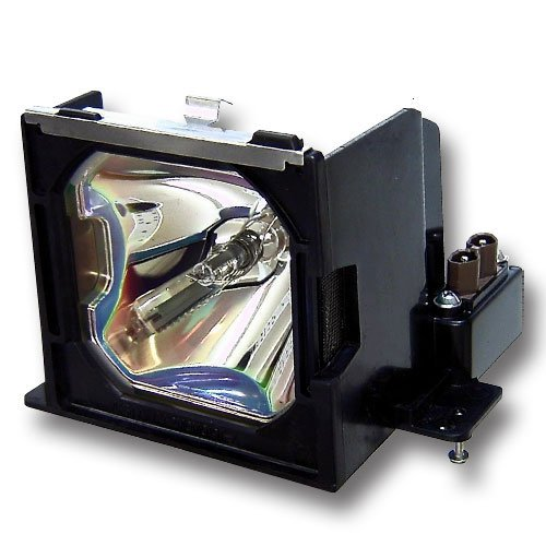 Canon LV-7555 Hybrid replacement lamp with either original bulb and generic casing for Canon Projector