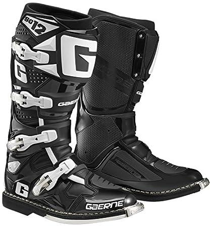 Amazon.com  Gaerne SG-12 Boots (7) (BLACK)  Automotive bb1d2591f3