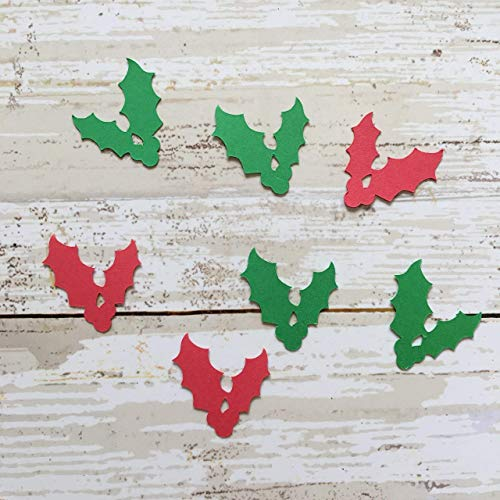 - Holly Confetti, Mistletoe Decorations, Garden Party Supplies, Holiday Theme, Flower Cut Outs, Christmas Party Supplies, Table Scatter, Christmas Decorations, Winter Decorations