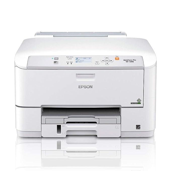 Epson WF-5190 - Impresora de Tinta (ESC P, PCL 5c, PCL 5e ...