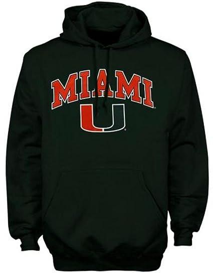 Miami Hurricanes Camiseta Sudadera con Capucha Sudadera Camiseta de fútbol Sombrero Universidad Ropa, Verde,
