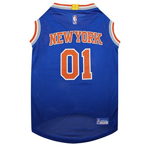- NBA NEW YORK KNICKS DOG Jersey, Medium - Tank Top Basketball Pet Jersey