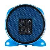 e-joy LEDmart Portable Fan/Space/Desktop Heater, Blue, 500W