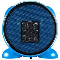 e-joy Ceramic Portable Personal Electric Space Heater, 500W, Blue