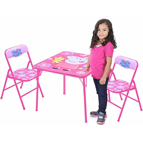 Peppa Pig Table and Chairs Set by Nickelodeon, WK570006 - Atlantic Set Chair