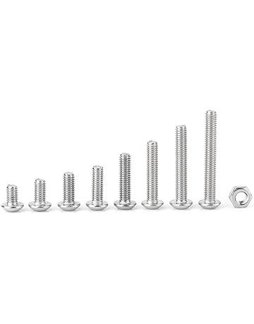 Acier Inoxydable Joint De Culasse Vis Filetage Vis Avec Écrous dans m3 m4 m5 m6