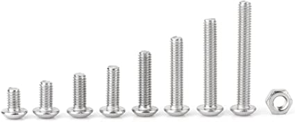 filettatura completa classe di resistenza 70 in acciaio inox A2 200 viti a testa esagonale M8 x 25