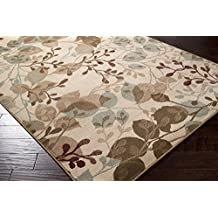 """Furnish my Place 5 x 8 Modern Oriental Floral Area Rug Prism Actual 62"""" x 91"""" ACH"""