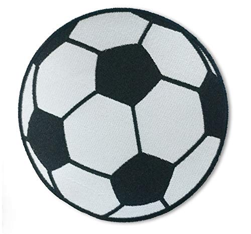 Soccer Ball - 5 inch Sew on Patch