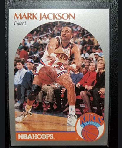 1990 Hoops Basketball Card (1990-91) #205 Mark Jackson Near Mint/Mint Menendez Brothers ()