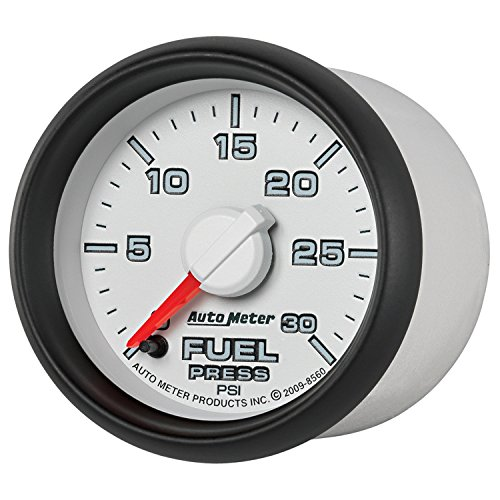Auto Meter 8560 Factory Match 2-1/16'' 0-30 PSI Fuel Pressure for Dodge by Auto Meter (Image #1)
