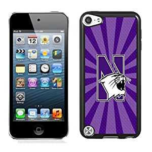 Fashion And Unique iPod Touch 5 Cover Case Ncaa Big Ten Conference Football North Western Wildcats 11 Protective Cell Phone Hardshell Cover Case For iPod Touch 5 Black Phone Case