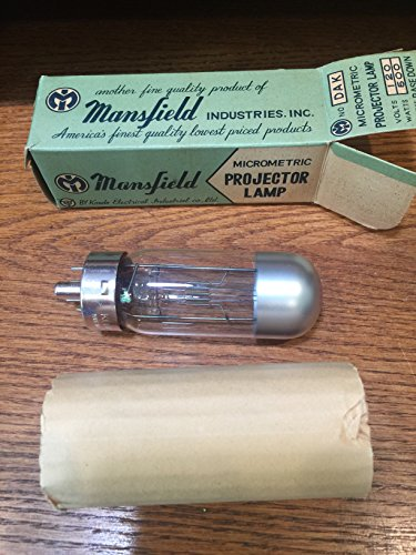 Projector Lamp Micrometric By Mansfield. Four Prong.
