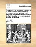 The Englishman's Manual, John Price, 1170383912