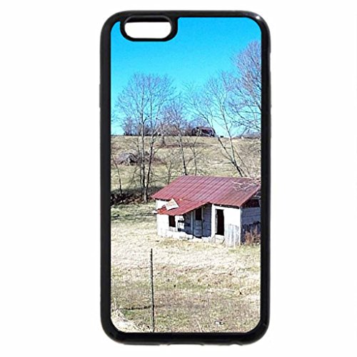 iPhone 6S / iPhone 6 Case (Black) House In The Field