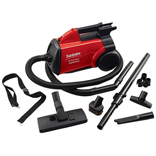 Best Canister Vacuum For Hardwood Floors canister and upright vacuum cleaners While The Sanitaire Commercial Canister Vacuum By Electrolux May Have Been Designed For The Professional Cleaner Why Not Clean Your Home With It Too