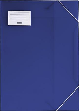 mit Gummizug Ordnungsmappe Eckspannermappe Zeichenmappe Veloflex 4432250 Sammelmappe A3 Crystal blau PP