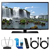 120Hz Led Tv - Samsung 50-Inch Full HD 1080p 120hz Smart LED HDTV (UN50J6200AFXZA) w/ TV Cut the Cord Bundle Includes, Durable HDTV & FM Antenna, Universal Screen Cleaner & 2x 6ft High Speed HDMI Cable
