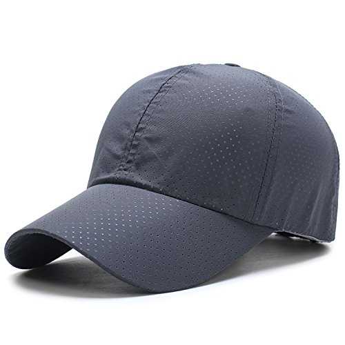 Price comparison product image Baseball Cap Unisex Summer Solid Thin Mesh Portable Quick Dry Breathable Sun Hat
