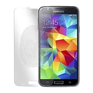 Protector de pantalla anti huellas y gamuza para Samsung Galaxy S5 G900
