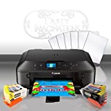 Edible Printer Bundle for Canon - Comes with Edible Ink Cartridges & 12 Frosting Sheets - Apprentice Package