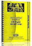 Caterpillar 3160 Engine Service Manual