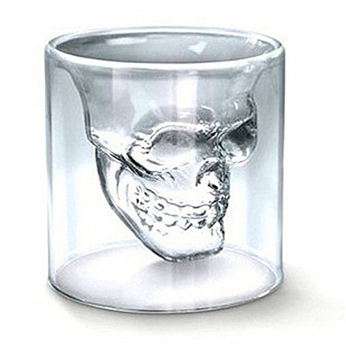 XelparucTS Sizes Halloween Skull Cup Wine Head Creative