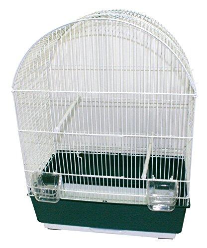 bellissima GABBIA EMMA BIANCA 50X31X68,5(H)cm - Gabbia in metallo per per per uccelli, completa di accessori  economico e di alta qualità
