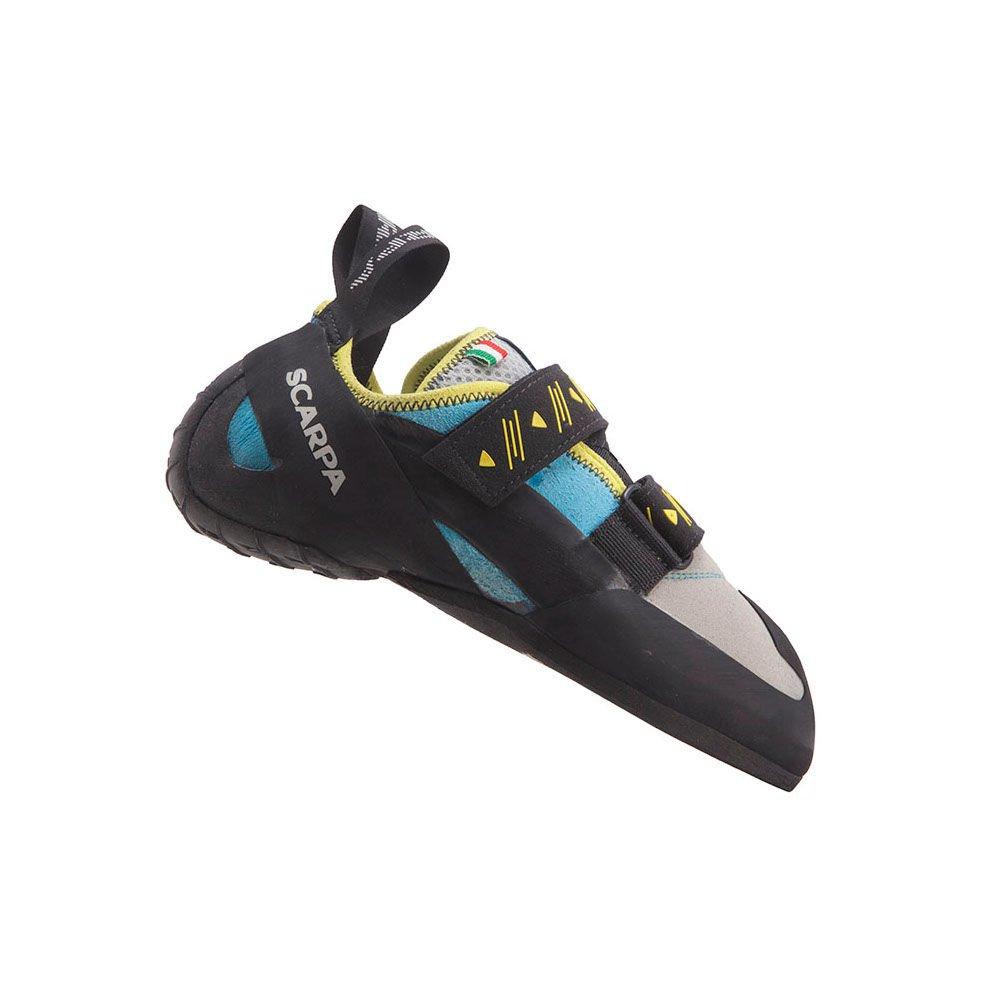 SCARPA Women's Vapor V Climbing Shoes Turquoise Blue 36