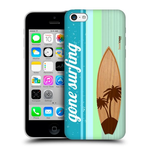Head Case Designs Palm Tree Surfboards Hard Back Case Cover for Apple iPhone 5c