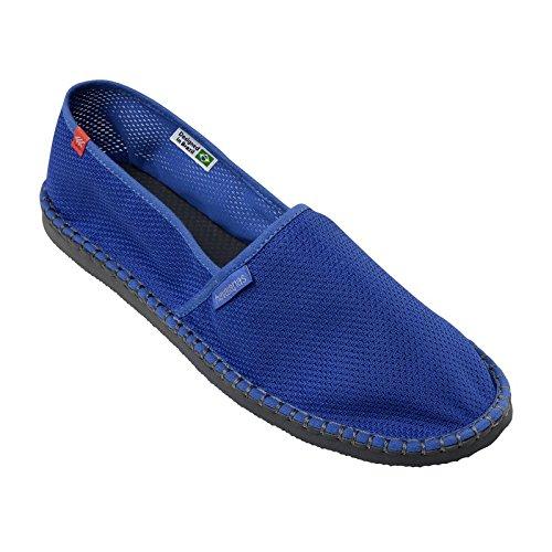 Zapatos Alpargatas Havaianas Originales Fresco Listra Estrella Azul Bleu