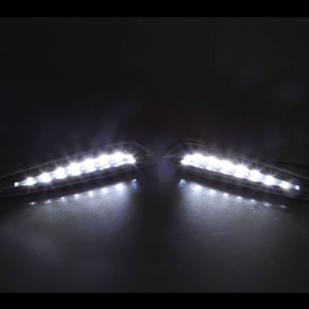 MotorFansClub LED Daytime Running Light For Mazda 3 Axela Car Fog Lamp DRL 2010 2011 2012 2013