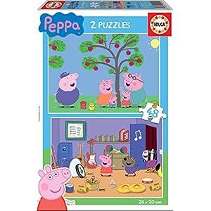 Peppa Pig Puzzle 2 X 48 Pezzi Educa Borras 15920