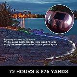 Happybuy Solar Driveway Lights 12-Pack, Dock Lights