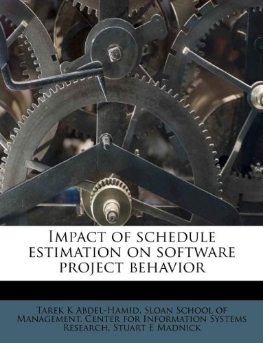 Download Impact of schedule estimation on software project behavior PDF