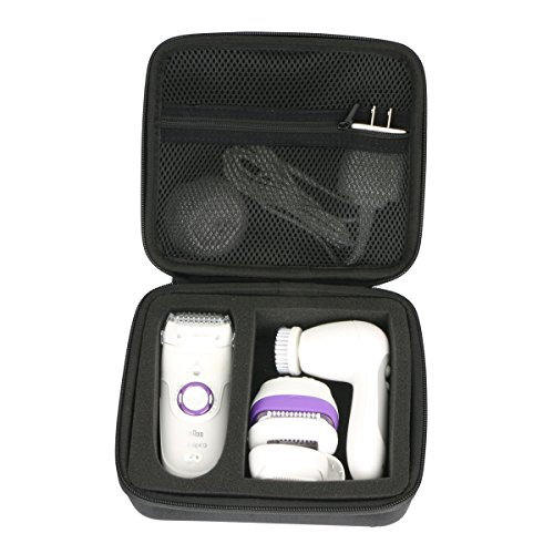 Hard Case for Braun Silk-épil 5 9 Power Women's Epilator, Electric Hair Removal, Wet & Dry Electric Razor by Khanka
