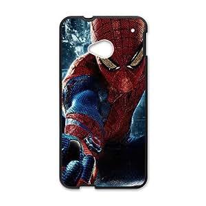 HTC One M7 Phone Case Black Spiderman HJF681096