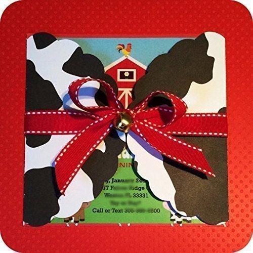 amazon com farm invitations personalized barnyard birthday party