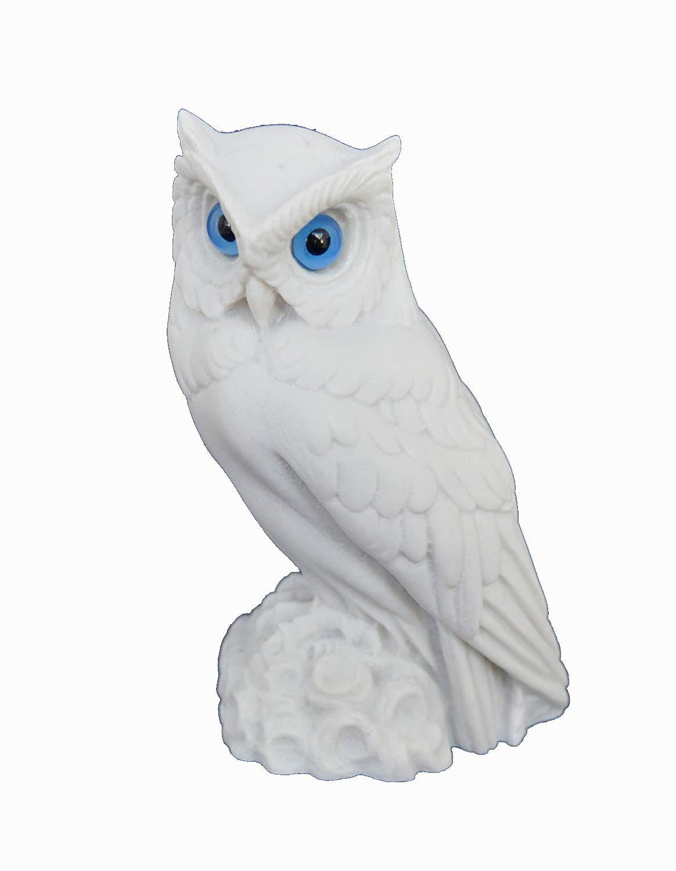 Estia Creations Owl Sculpture Statue Ancient Greek Symbol of Knowledge and Wisdom