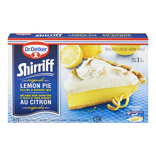 Dr. Oetker Shirriff Original Lemon Pie Filling & Desert Mix - 212g