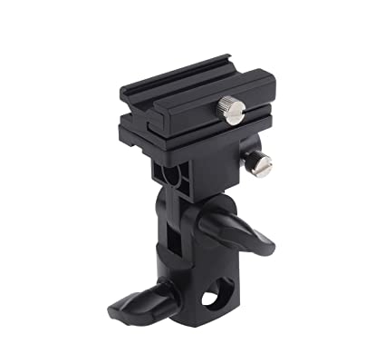 Godox Flash Bracket Speedlite Monte Swivel Light Stand Soporte para paraguas Studio inclinable para Canon 430EX
