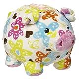 "Mary Meyer Print Pizzazz 6"" Piggy Bank Lily Design"