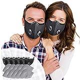 SOKERDY Sports Masks 5Piece with10PCS Filters Net