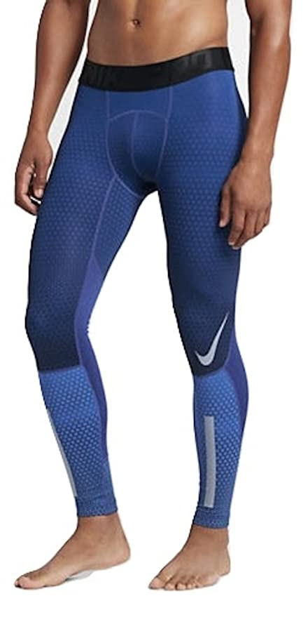 d0f3a3cf9e11c1 Image Unavailable. Image not available for. Color: Nike Men's Hyperwarm  Hexodome Printed Tights ...