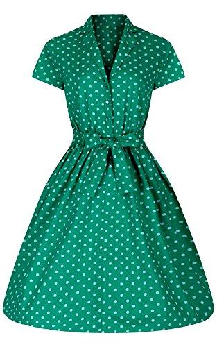 Love Camden - Robe - Chemise - Femme vert Green taille unique