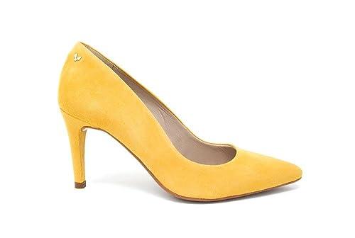 29e641a5 Martinelli - Zapato de tacón para Mujer - Mostaza Mujer: Amazon.es ...