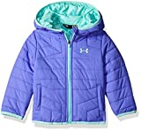 Under Armour Baby Girls' Feature Puffer, Violet Storm, 0/3 Months