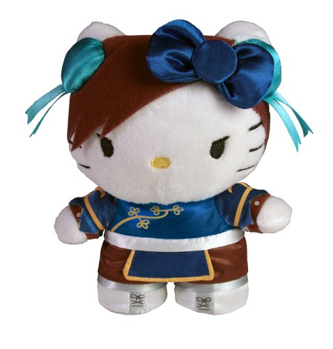 Toynami Hello Kitty Chun Li Mini Plush - Street Fighter M Bison Costume
