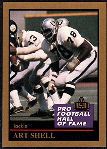 Football NFL 1991 ENOR Pro Football HOF #128 Art Shell NM-MT (Art Shell)